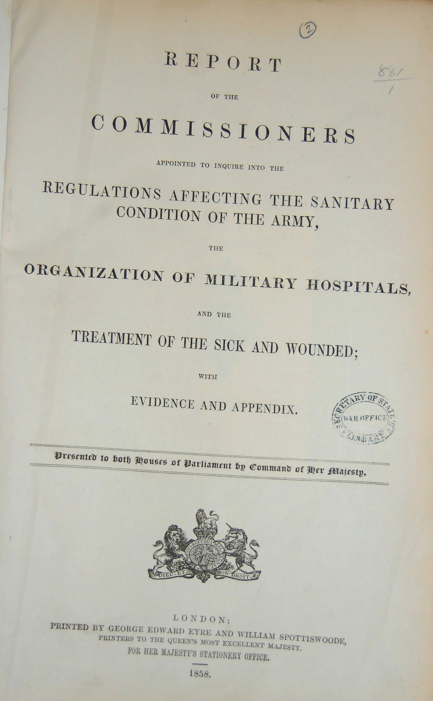 The Army Hospital Corps